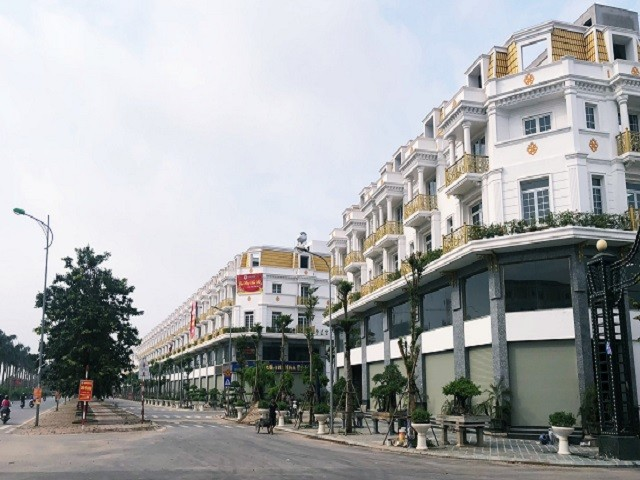 Liền kề, biệt thự, shophouse Geleximco Lê Trọng Tấn