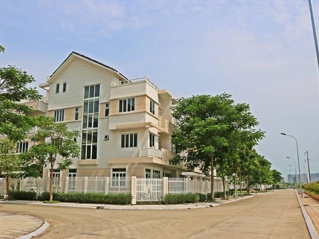 Biệt thự Geleximco những căn hộ chuẩn cho cuộc sống xanh