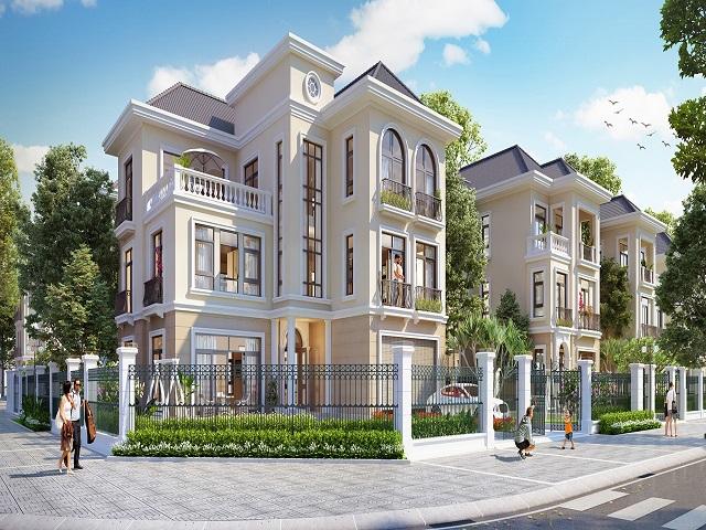 Biệt thự Geleximco hội tụ tinh hoa kiến thức xây dựng nhà ở