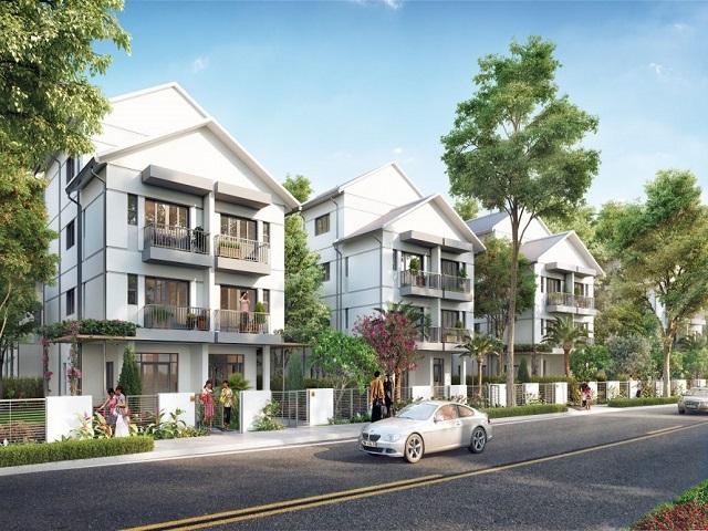 Biệt thự Geleximco gia tăng không gian xanh cho vùng ngoại đô