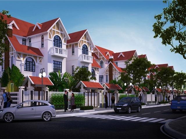 Biệt thự Geleximco có môi trường sống chất lượng hơn nội đô
