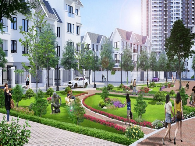 Biệt thự Geleximco mang đến cuộc sống chất lượng cho dân cư