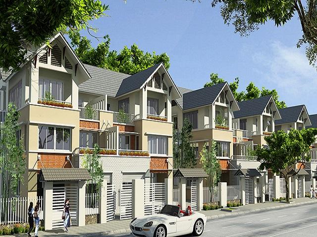 Thiết kế biệt thự Geleximco rất thuận lợi cho cuộc sống của cư dân