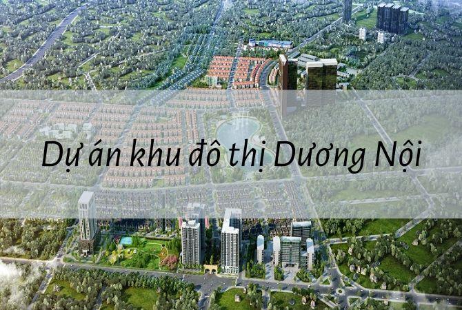 Tổng thể dự án khu đô thị Dương Nội – Geleximco Lê Trọng Tấn