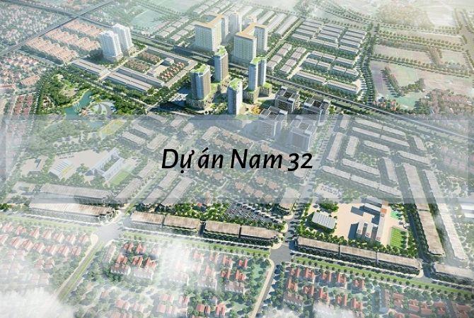 Tổng thể dự án Nam 32 – Geleximco Lê Trọng Tấn