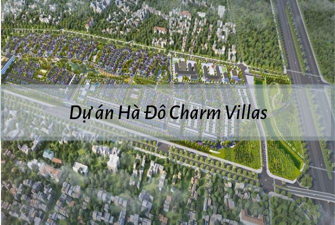 Tổng thể dự án Hà Đô Charm Villas – Geleximco Lê Trọng Tấn